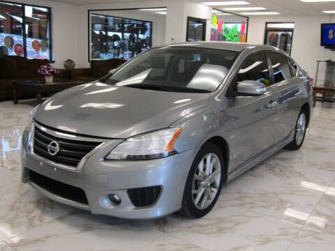 2013 Nissan Sentra for sale at Dealer One Auto Credit in Oklahoma City OK
