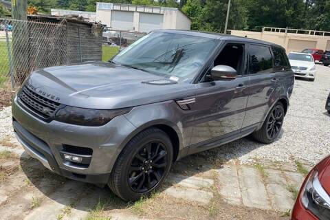 2015 Land Rover Range Rover Sport for sale at TRANS P in East Windsor CT