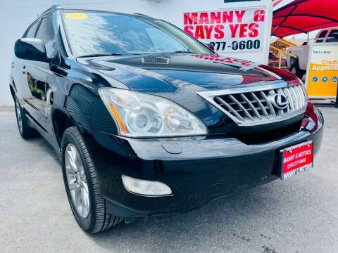 2009 Lexus RX 350 for sale at Manny G Motors in San Antonio TX