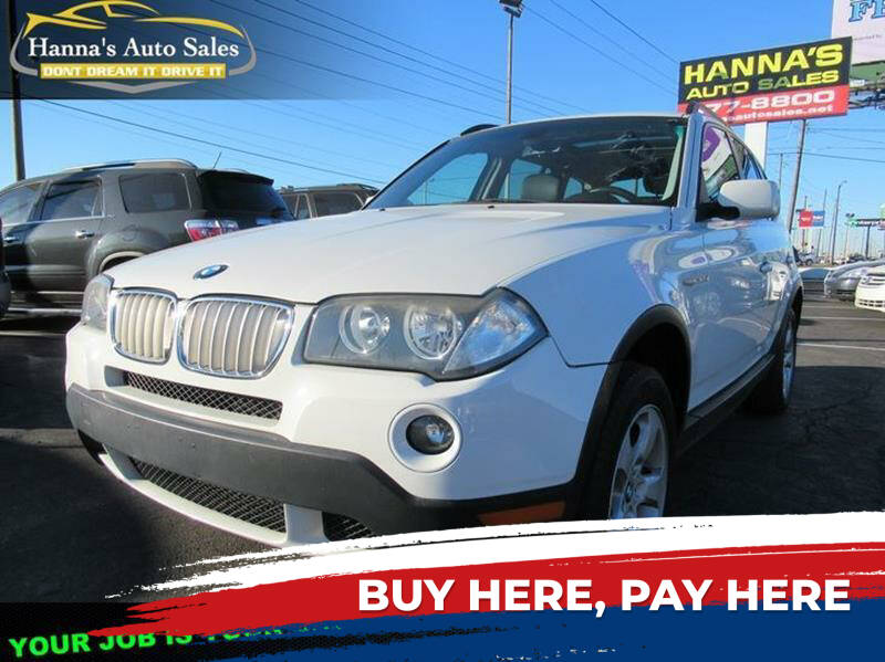 2007 BMW X3 for sale at Hanna's Auto Sales in Indianapolis IN