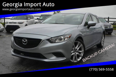 2017 Mazda MAZDA6 for sale at Georgia Import Auto in Alpharetta GA