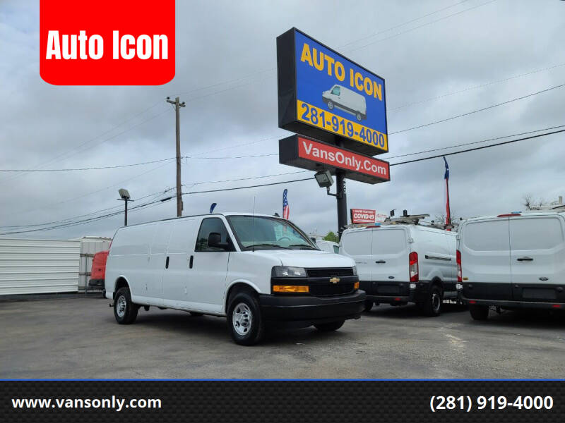 2019 Chevrolet Express Cargo for sale at Auto Icon in Houston TX
