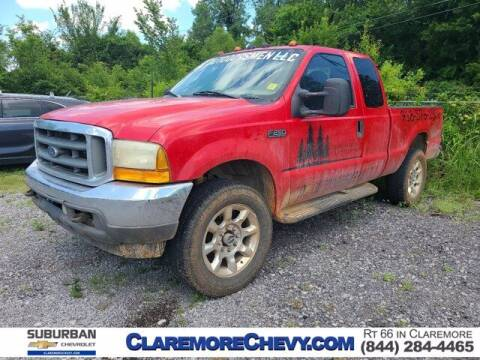 2000 Ford F-250 Super Duty for sale at Suburban Chevrolet in Claremore OK