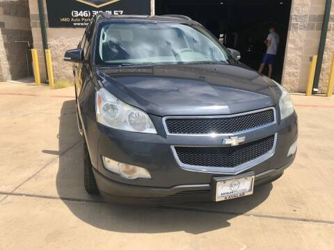 2009 Chevrolet Traverse for sale at KAYALAR MOTORS Mechanic in Houston TX