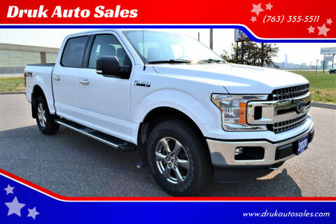 2020 Ford F-150 for sale at Druk Auto Sales in Ramsey MN