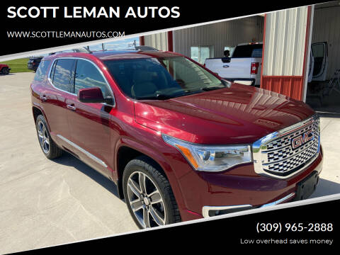 2017 GMC Acadia for sale at SCOTT LEMAN AUTOS in Goodfield IL