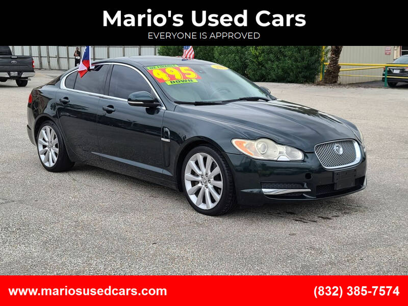 2010 Jaguar XF for sale at Mario's Used Cars in Houston TX