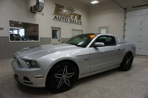 2013 Ford Mustang for sale at Elite Auto Sales in Ammon ID