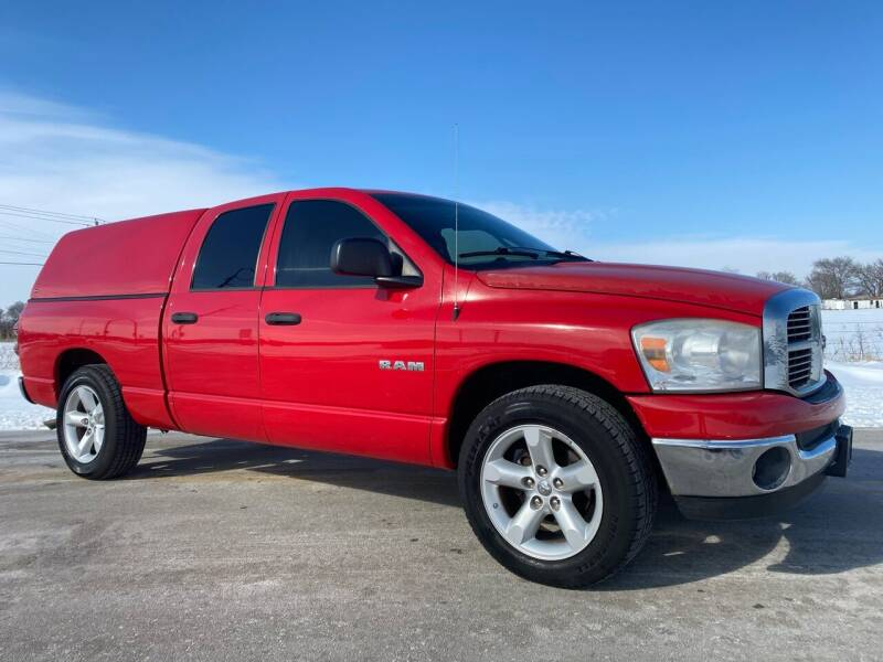 2008 Dodge Ram Pickup 1500 for sale at ILUVCHEAPCARS.COM in Tulsa OK