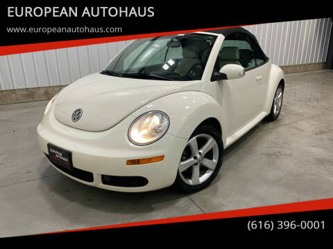 2007 Volkswagen New Beetle Convertible for sale at EUROPEAN AUTOHAUS in Holland MI
