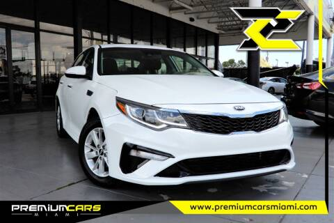 2019 Kia Optima for sale at Premium Cars of Miami in Miami FL