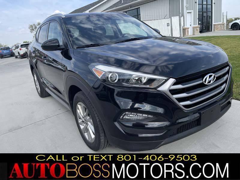 2017 Hyundai Tucson for sale at Auto Boss in Woods Cross UT