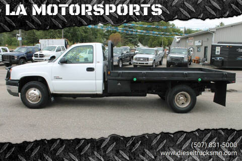 2003 Chevrolet Silverado 3500 for sale at LA MOTORSPORTS in Windom MN