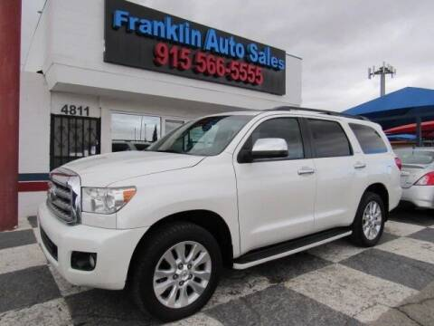 2011 Toyota Sequoia for sale at Franklin Auto Sales in El Paso TX