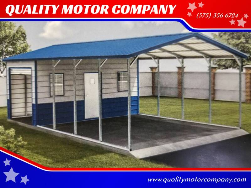Eagle Carports And Metal Buildings for sale at QUALITY MOTOR COMPANY in Portales NM