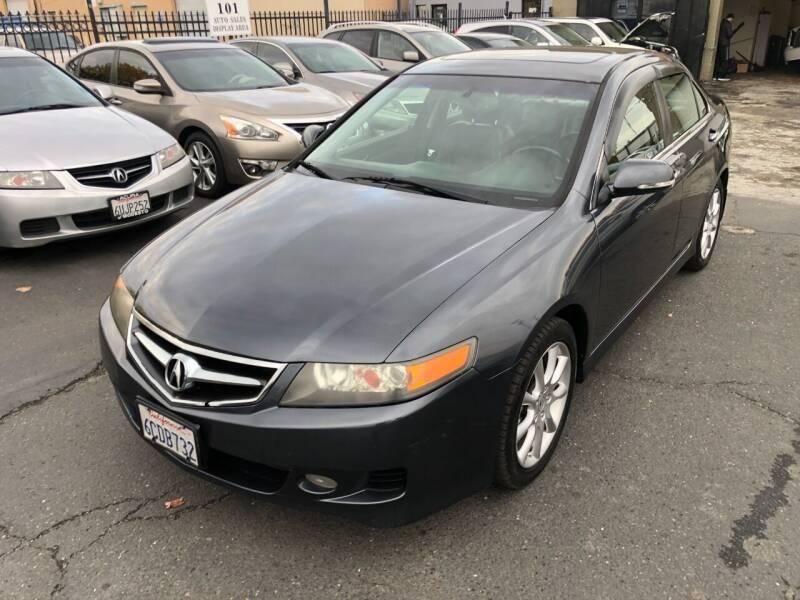2008 Acura TSX for sale at 101 Auto Sales in Sacramento CA