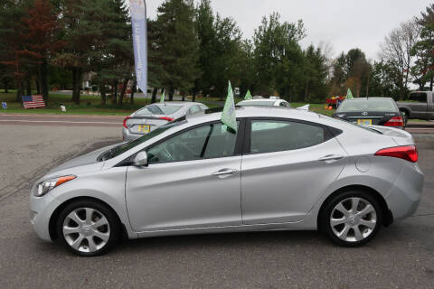 2012 Hyundai Elantra for sale at GEG Automotive in Gilbertsville PA
