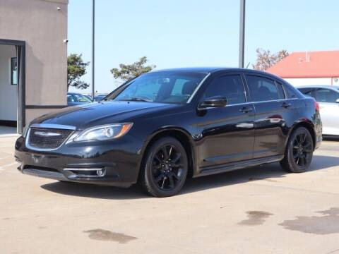 2014 Chrysler 200 for sale at Bryans Car Corner in Chickasha OK