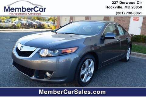 2010 Acura TSX for sale at MemberCar in Rockville MD