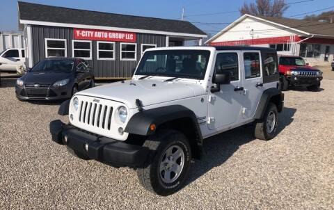 2014 Jeep Wrangler Unlimited for sale at Y City Auto Group in Zanesville OH