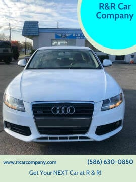 2009 Audi A4 for sale at R&R Car Company in Mount Clemens MI