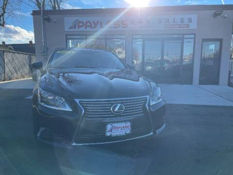 2014 Lexus LS 460 for sale at PAYLESS CAR SALES of South Amboy in South Amboy NJ