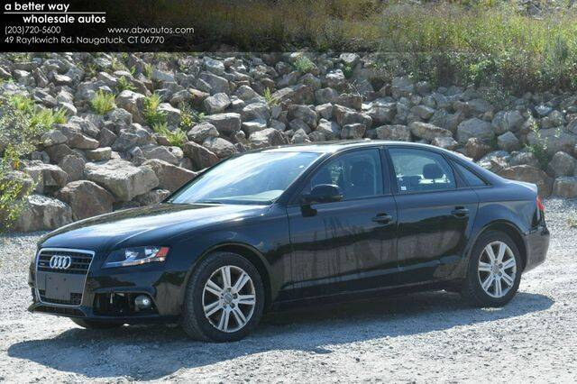 2010 Audi A4 for sale in Naugatuck, CT