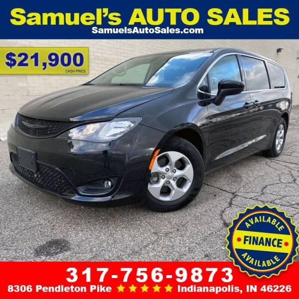 2017 Chrysler Pacifica for sale at Samuel's Auto Sales in Indianapolis IN