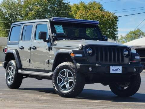 2020 Jeep Wrangler Unlimited for sale at BuyRight Auto in Greensburg IN