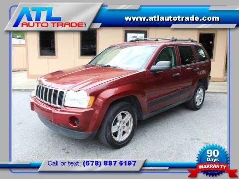2006 Jeep Grand Cherokee for sale at ATL Auto Trade, Inc. in Stone Mountain GA