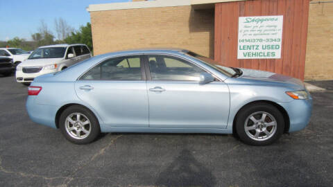 2009 Toyota Camry for sale at LENTZ USED VEHICLES INC in Waldo WI
