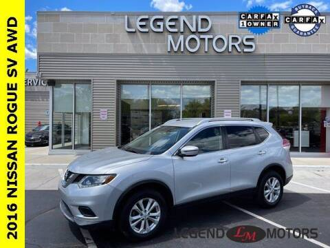 2016 Nissan Rogue for sale at Legend Motors of Detroit - Legend Motors of Waterford in Waterford MI