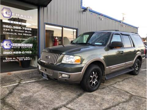 2003 Ford Expedition for sale at Chehalis Auto Center in Chehalis WA