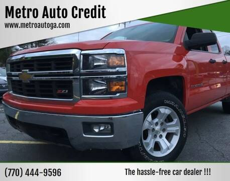 2014 Chevrolet Silverado 1500 for sale at Used Imports Auto - Metro Auto Credit in Smyrna GA