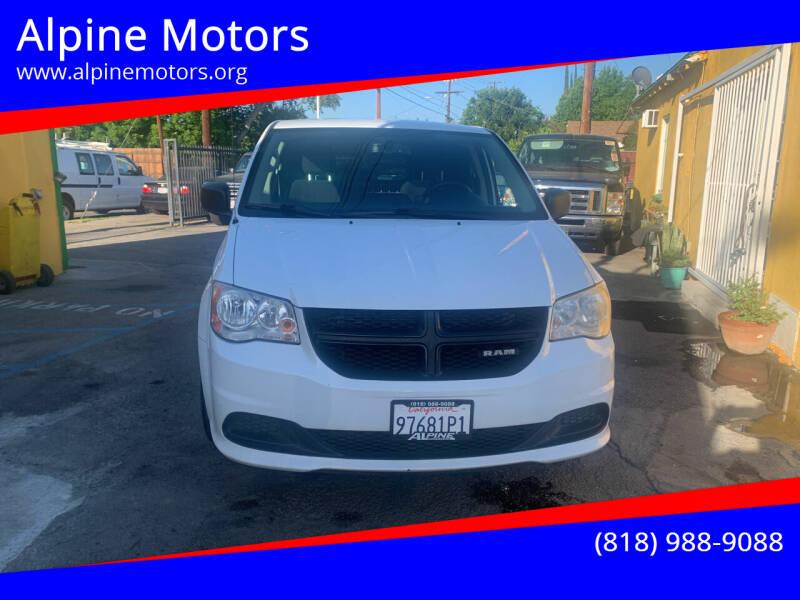 2014 RAM C/V for sale at Alpine Motors in Van Nuys CA
