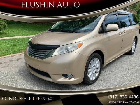 2011 Toyota Sienna for sale at FLUSHIN AUTO in Flushing NY