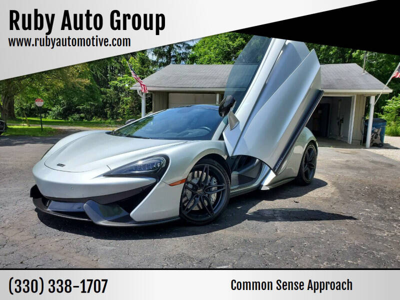 2017 McLaren 570GT for sale at Ruby Auto Group in Hudson OH