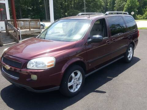 2006 Chevrolet Uplander for sale at Premier Auto Sales Inc. in Newport News VA