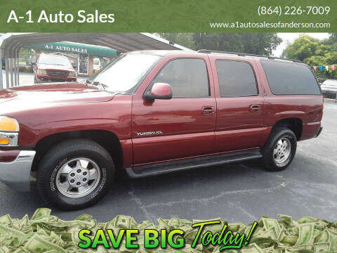 2003 GMC Yukon XL for sale at A-1 Auto Sales in Anderson SC