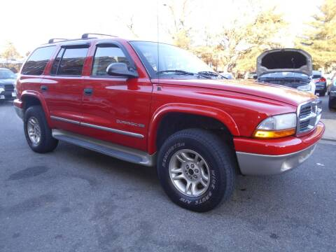 2001 Dodge Durango for sale at H & R Auto in Arlington VA