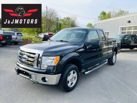 2012 Ford F-150 for sale at J & J MOTORS in New Milford CT