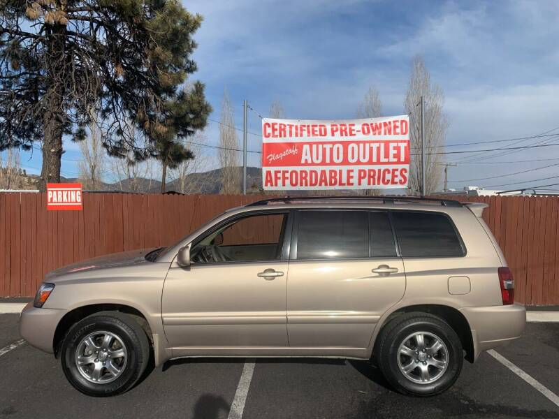 2004 Toyota Highlander for sale at Flagstaff Auto Outlet in Flagstaff AZ