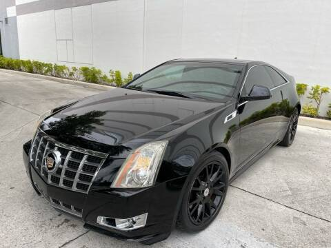 2012 Cadillac CTS for sale at Auto Beast in Fort Lauderdale FL