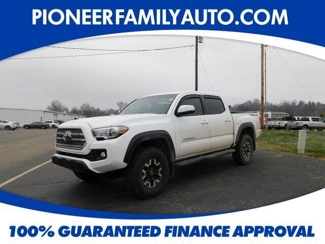 2017 Toyota Tacoma for sale at Pioneer Family auto in Marietta OH