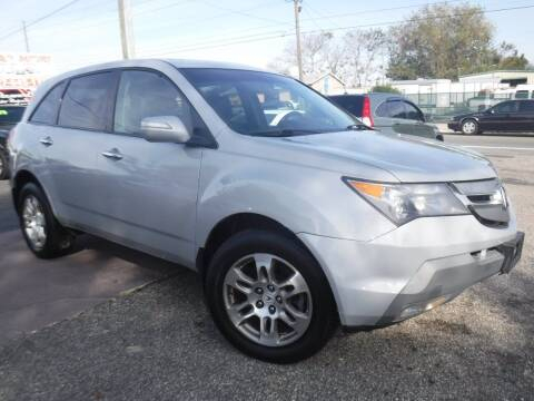 2009 Acura MDX for sale at LEGACY MOTORS INC in New Port Richey FL