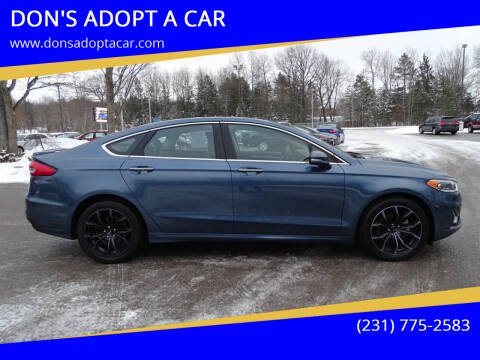 2019 Ford Fusion for sale at DON'S ADOPT A CAR in Cadillac MI