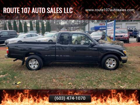 2003 Toyota Tacoma for sale at Route 107 Auto Sales LLC in Seabrook NH