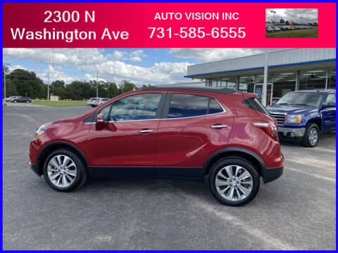 2018 Buick Encore for sale at Auto Vision Inc. in Brownsville TN
