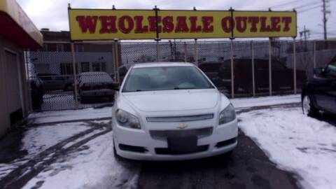 2010 Chevrolet Malibu for sale at LONG BROTHERS CAR COMPANY in Cleveland OH