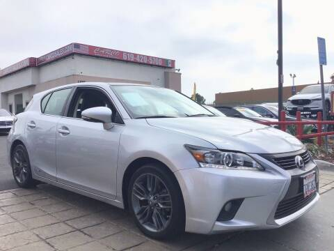 2014 Lexus CT 200h for sale at CARCO SALES & FINANCE - CARCO OF POWAY in Poway CA